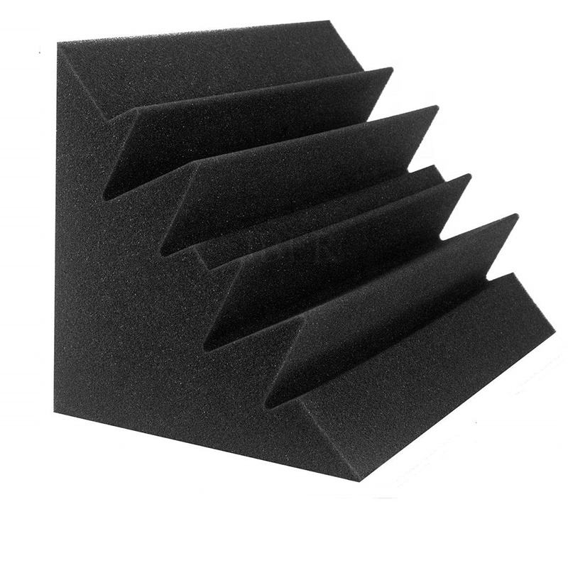 Open Cell PU sponge for meeting Room &Cinema Polyester wall sound proof insulation block foam