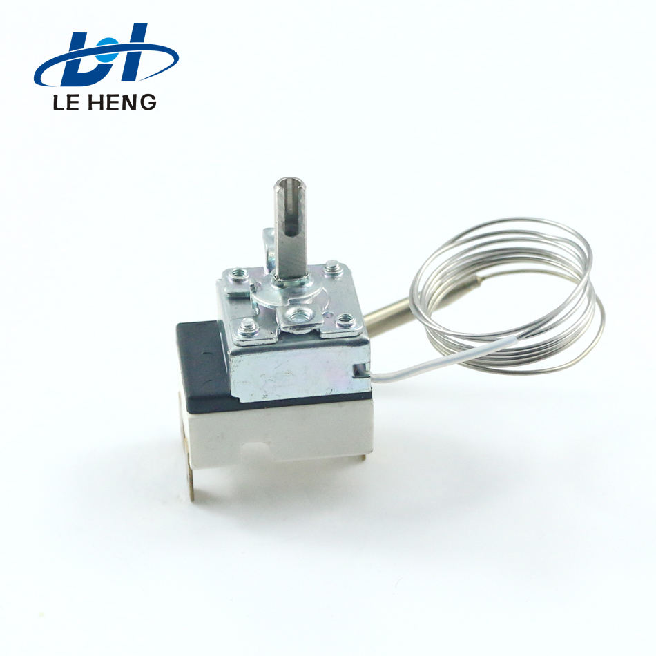 Manufacturers direct expansion pressure thermostat with capillary temperature pack