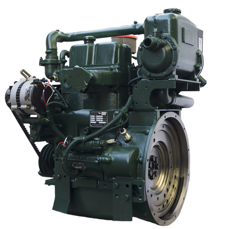 2 cylinder diesel engine 22hp 4 stroke 16kw small water cooled marine diesel engine