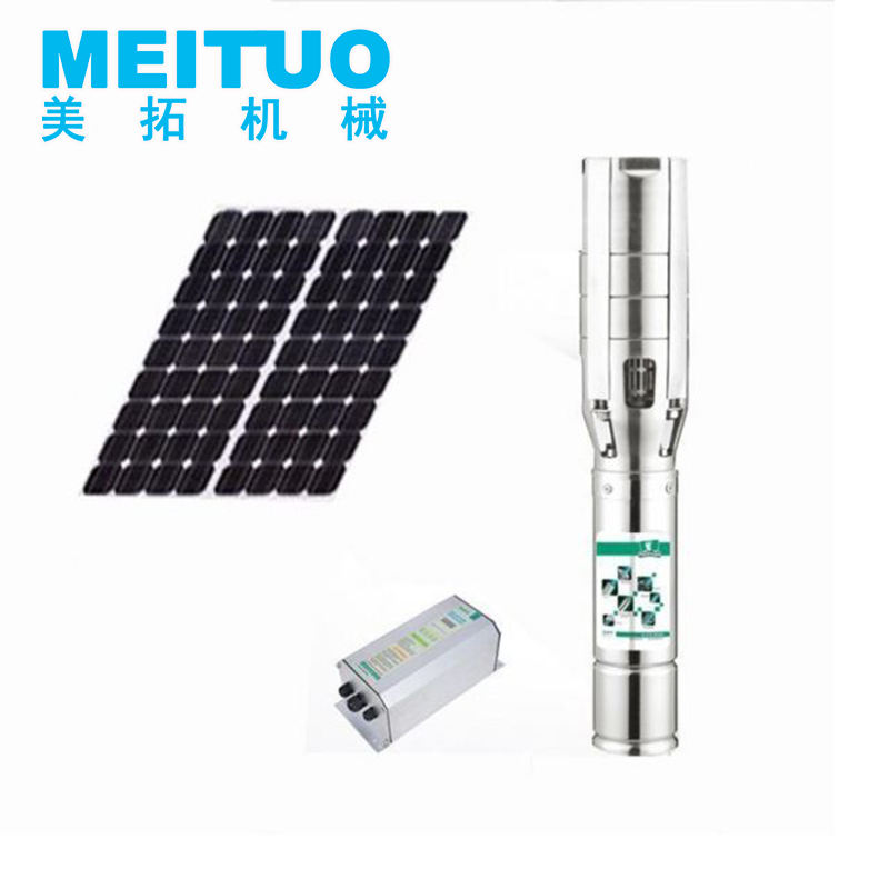 High Efficiency Solar Pump Mppt Controller With Solar Water Pump For Zambia In Fish Pond