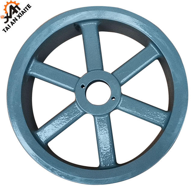 China hot sale Grey iron and steel casting belt pulley
