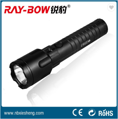 Stepless dimming CREE LED outdoor 18650 rechargeable flashlight