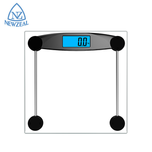 70% OFF Inventory Transparent Tempered Glass Digital Body Scale 180Kg 396Lb Electronic Weighing Scale