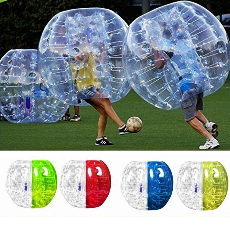 Big tpu antistress body bouncing bouncy bubble soccer stress bumper balls ball pvc bouncing bouncy toy toys for football sale
