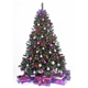 7.5' Ft Prelit Premium Spruce Hinged Artificial Christmas Tree W/ 550 Clear Lights And Stand