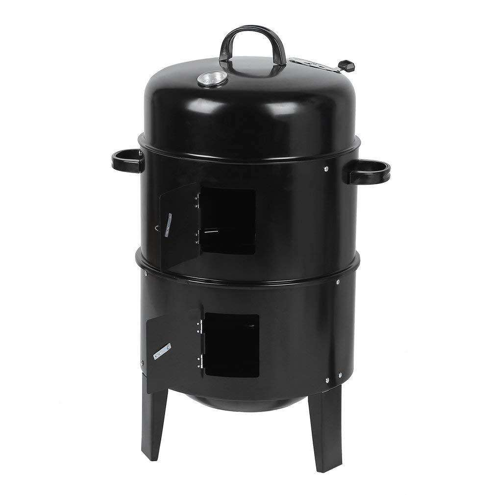 Commercio all'ingrosso barbeuque griglie Fabbrica Commerciale A Vapore BBQ <span class=keywords><strong>Griglia</strong></span> A Carbone Portatile Barbecue verticale fumatore Barbecue