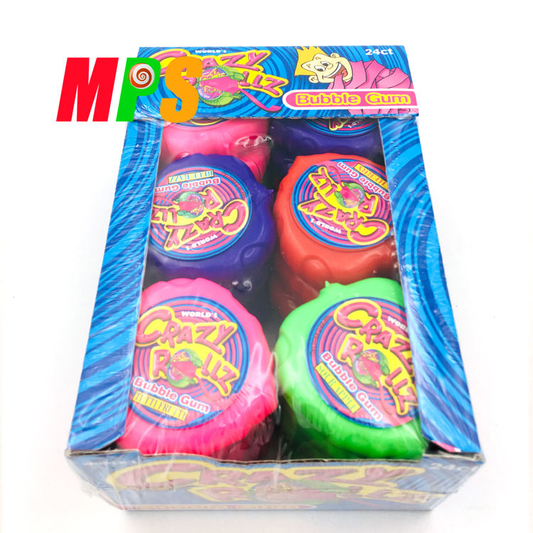 Wholesale Fruity Big Size Chewing Roll Bubble Gum For Kids