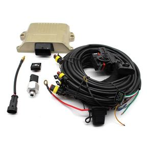 Sequential Injection System Autogas Conversion Kits 48-pin CNG ECU with OBD and timing advancer