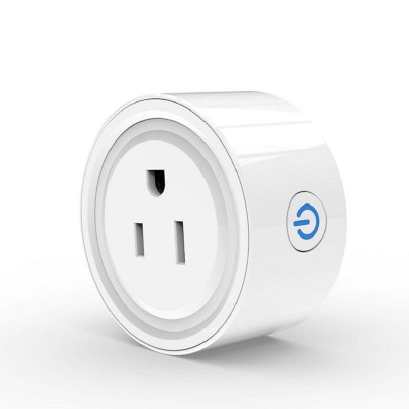 Factory Supply Wifi Smart Plug Outlet 100-240V 10A Socket Google Alexa Smart US Plug alle socket power adapter ETL certificaat
