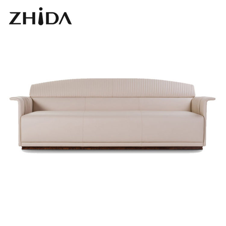Zhida Custom Top Selling Licht Luxe Woonkamer Sets Woonkamer Sofa Set