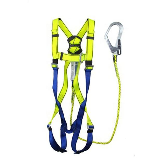 Polyester [ Safety Full Body Harness ] Safety High Quality Safety Belt Full Body Harness With Hook