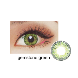 Magic 12 color fresh 3 tone contact lenses top quality cosmetic color contact lens