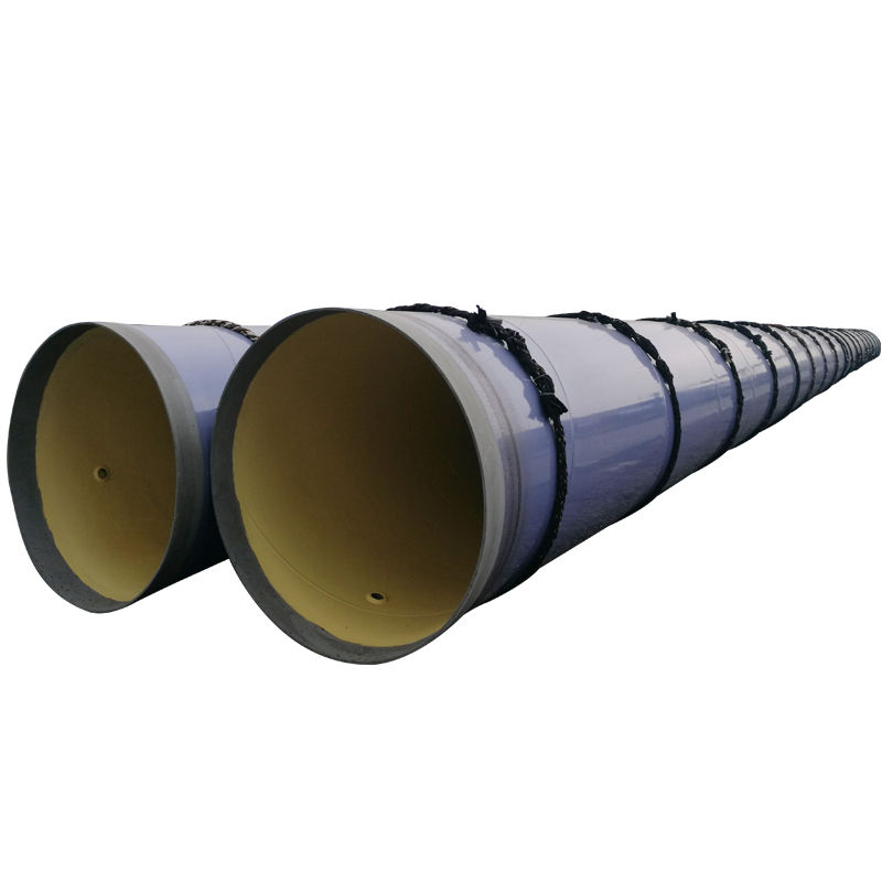Large diameter 600mm pu coating for anticorrosin steel pipe