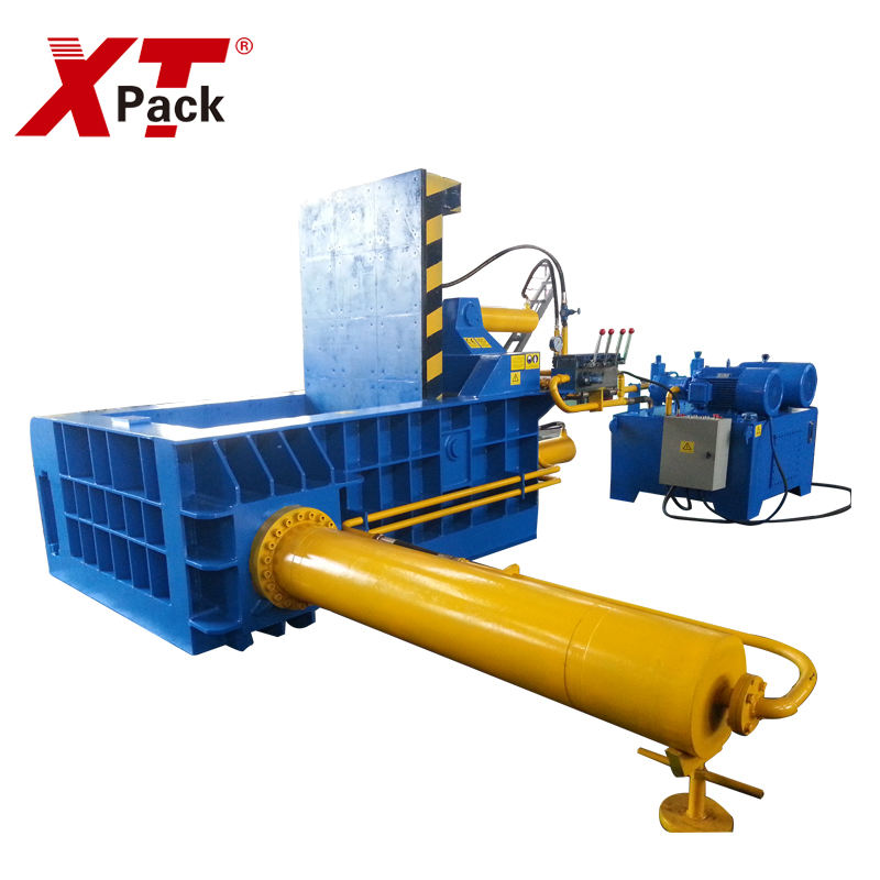 Hot sale 8000 kg vertical metal scrap baler hydraulic aluminum metal baler