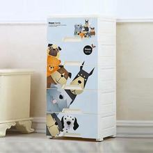 New arrival folding 5 layer plastic big storage drawer cabinet baby clothes toy wardrobe with wheels