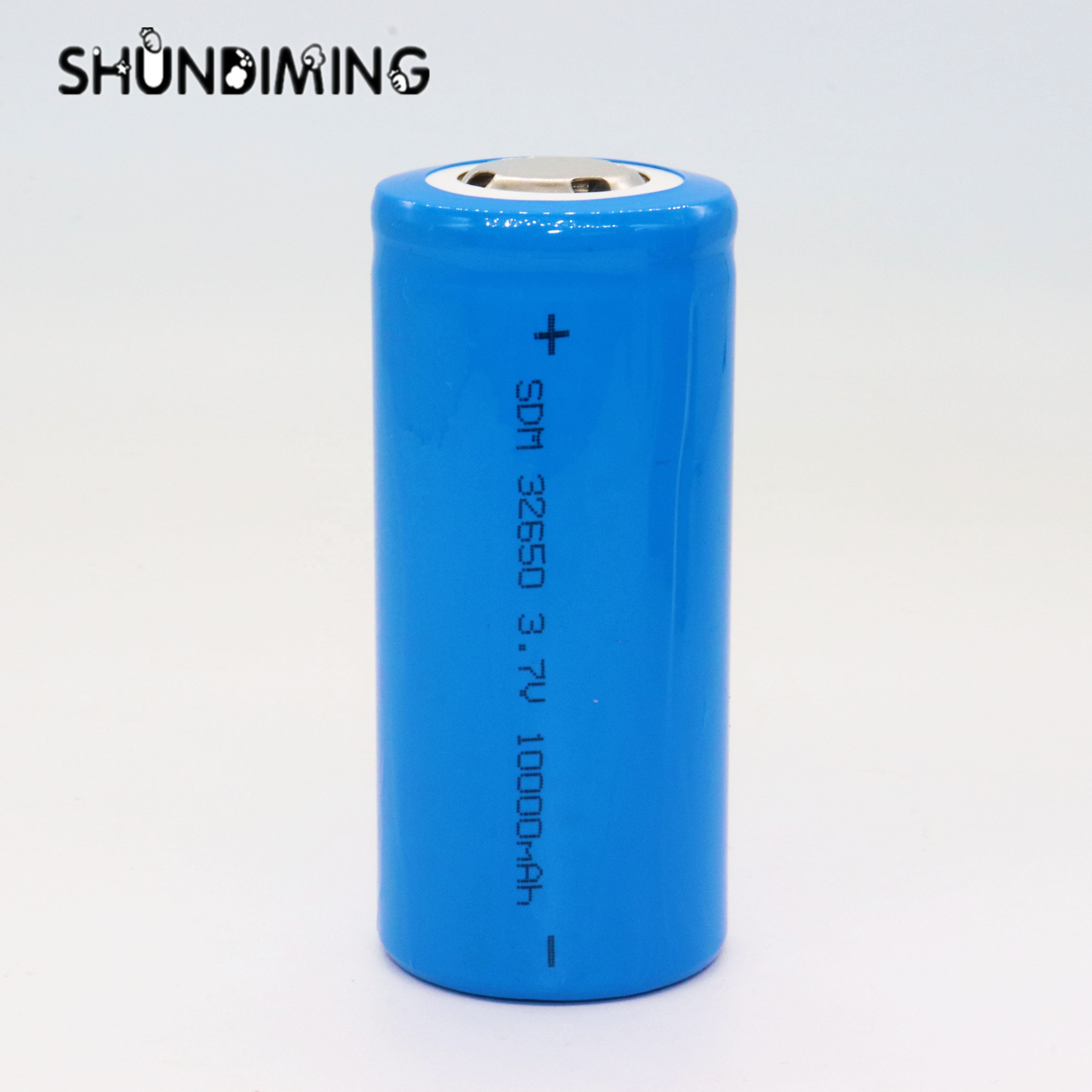 high capacity li-ion battery 32650 3.2v 10000mah rechargeable lifepo4 car battery cell ICR32650