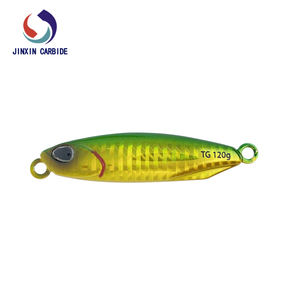 32g 60g 100g 120g 150g Tungsten Fishing Lures Jig Sinking Lead Metal Flat Jigs Jigging Lure