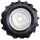 China Manufacturer 7.00-12 Tractor Tire With Rim
