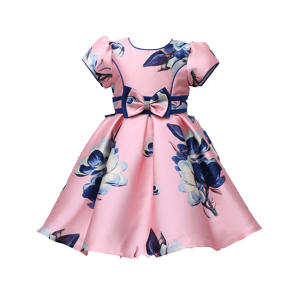 Newest kid girl princess dresses toddler dress girl christening gown