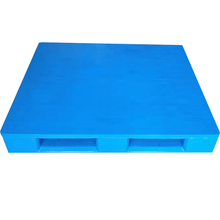 Manufacture heavy Duty flat surface 3 Skids Food grade and hygienic Plastic Pallet