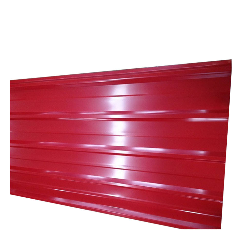 corrugated steel prepainted roofing sheet metal roof sheet in Sierra Leone/Zambia/Gambia/Guinea/West Africa/South Africa/Kenya