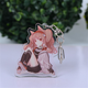 China Low Moq Custom Design Anime Acrylic Keychain Charm