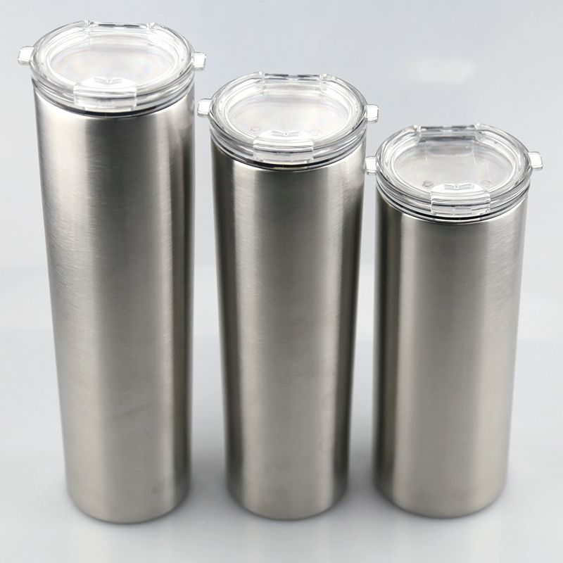 Ice chiiler tumbler New products Stainless Steel 25oz kinny straight Tumbler chiller tumbler for Drinking Water