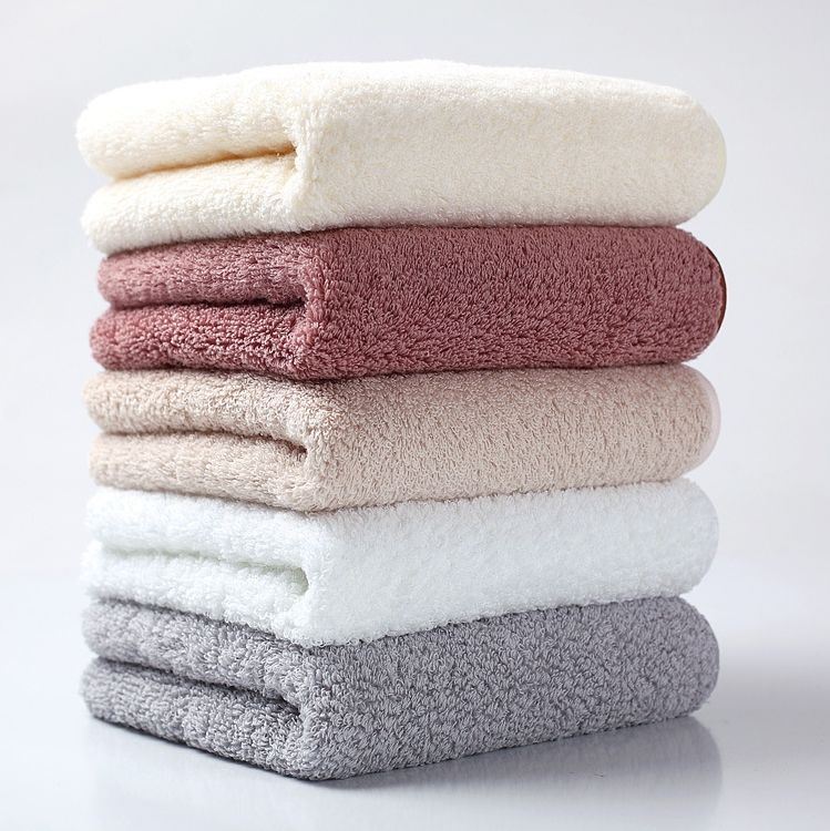 Custom Wholesale 100% Egyptian Cotton 32s Large Thick Anti-bacterial Towels