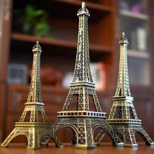 Hot Sale High Quality Home Decoration Promotion Gift Metal Eiffel Tower Model