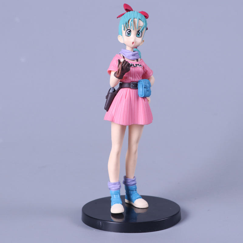 Japanse Anime Beeldje <span class=keywords><strong>Dragon</strong></span> <span class=keywords><strong>Ball</strong></span> <span class=keywords><strong>Z</strong></span> Bulma No.90 Pvc Action Figure Model Toy Boxed Voor Decoratie