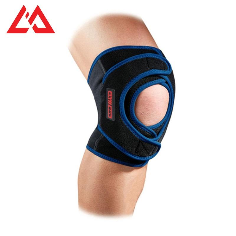Wholesale Sports Leg And Knee Supports Brace Compression Elastic Knee Sleeve For Best Joint Pain Relief