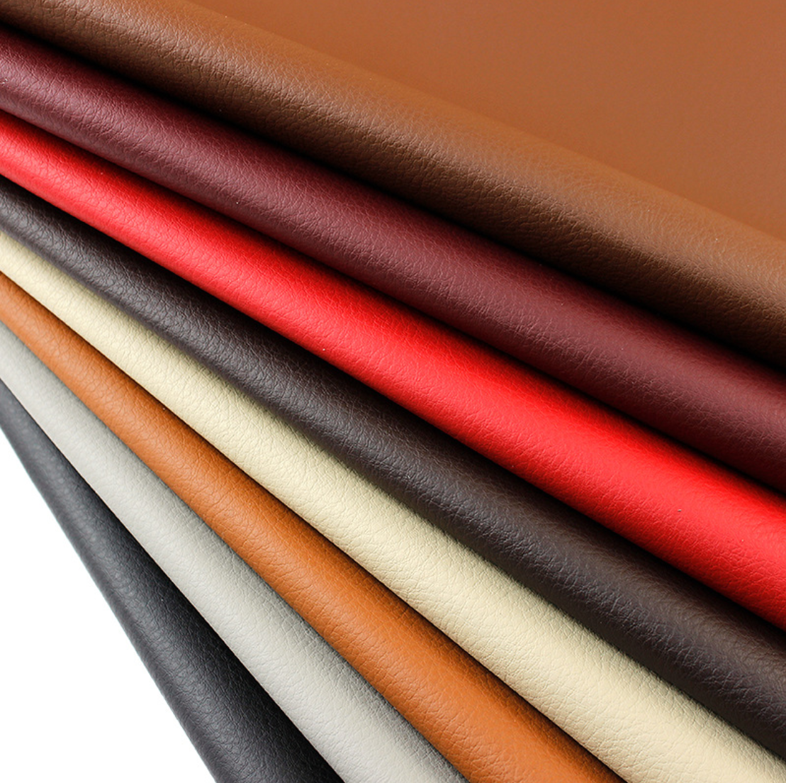 Factory Wholesale PU Microfiber Leather For Chair Hand Bag Sofa Headboard Furniture Stationery Packing