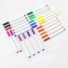 KHY Hot Sell Vivid Colors Textile Marker Pen Set Non-toxic Washable Fabric Marker