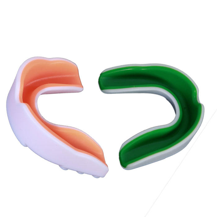 One-Stop Service [ Logo Mouth Guard ] Mouth Guard Football Custom LOGO MMA Fashion Sport Football Gum Shield Mouth Guard