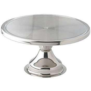 Cake Stand- Stainless Steel Cake Stand 13 inches