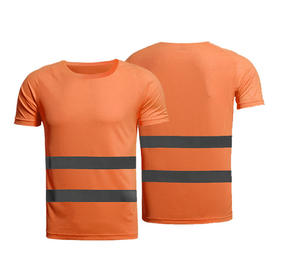 New design mesh printed safety high visibility safety polo t-shirts
