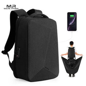 Mark Ryden USB charging laptop backpack bag with magic clock design