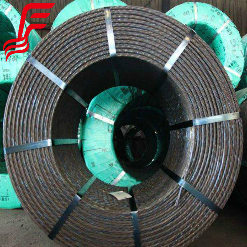 China pc strand cable coil for Reinforcement of Prestressed Concrete Structures in australia