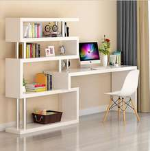 Office  Desk Home Furniture Studying Desk Writing Table for Student with Bookshelf
