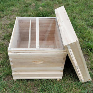 Hot sale langstroth beehive box 1/2 layers 10 frames bee hive