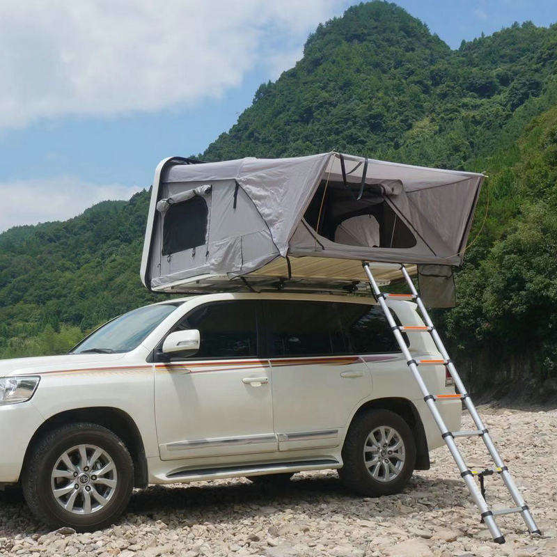 Abs Hard Shell Roof Diagonal Support Tent Self-driving Outdoor Equipment Camping Off-ground Tent Car Roof Tent