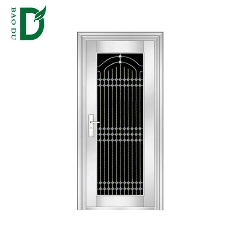 new design luxury stainless steel security doors exterior fireproof doors for sale