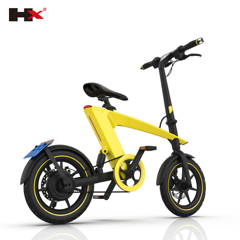 2020 Latest 250W 14 inch Range 55KM Adult Detachable Foldable Electric Bike Bicycle