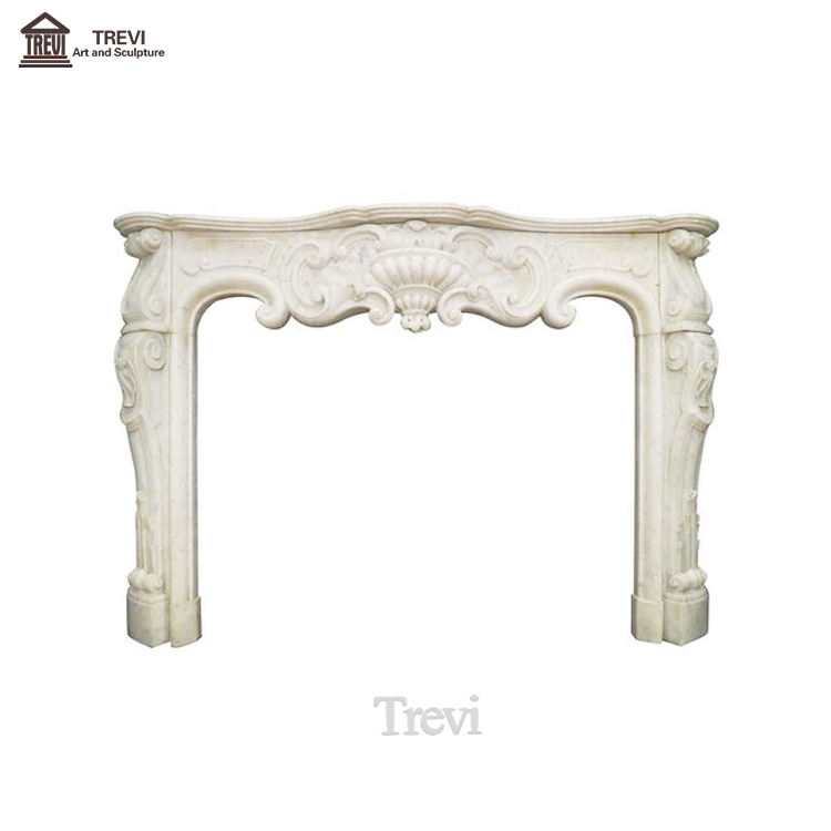 Handmade Marble Fireplace for Sale