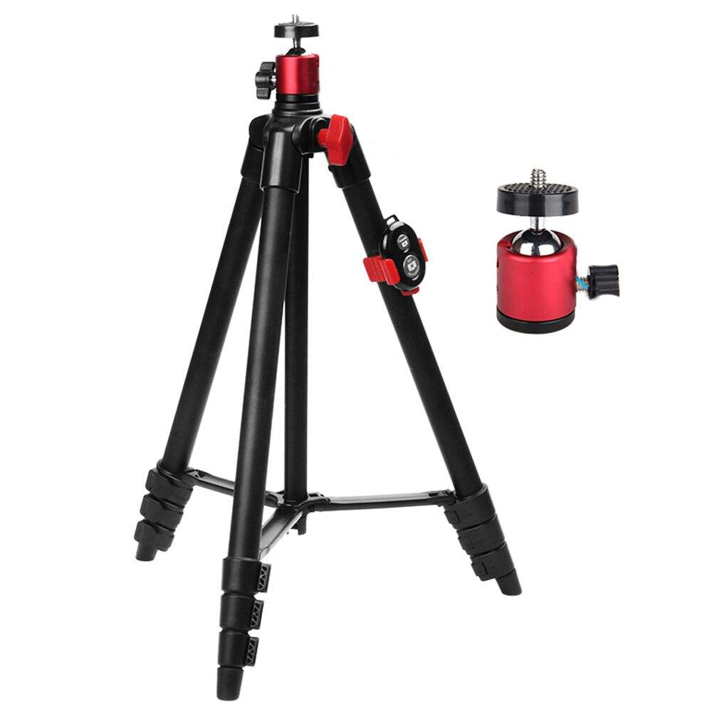 UEGOGO T6 Lightweight Tripod 65inch Aluminum Travel/Camera/Phone Tripod w/ Carry Bag for Phone Camera Laser Measure Laser Level