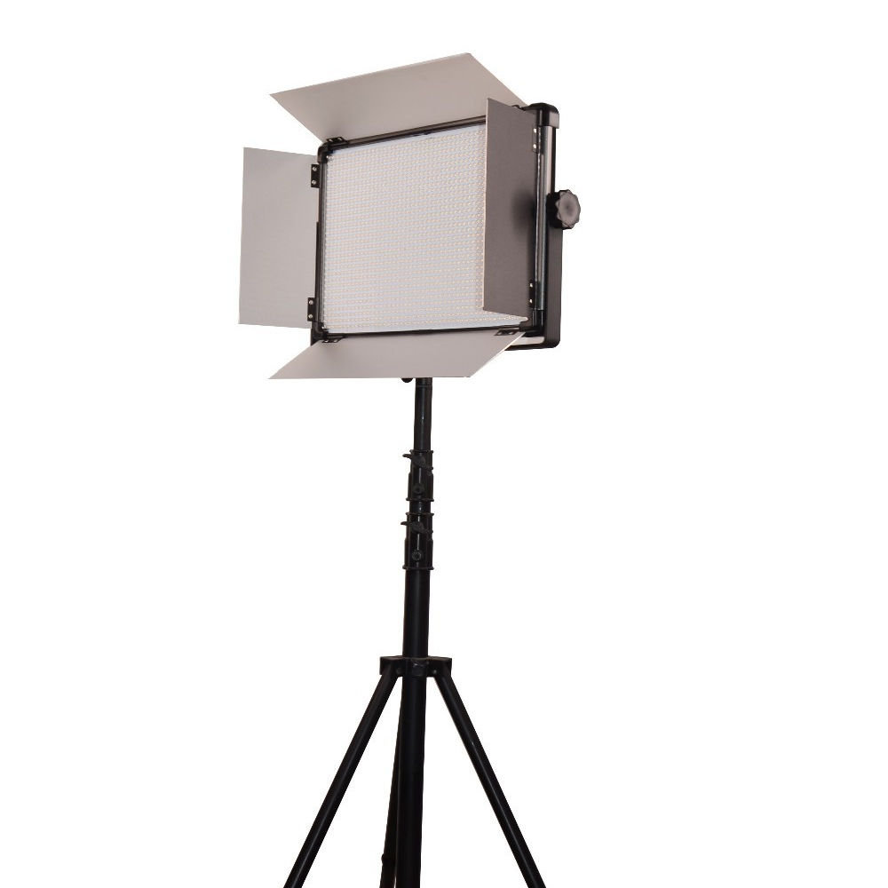 foshan E-2000 Single Color led video Light daylight 5500k 140W with filter remote for television show indoor/outdoor photography