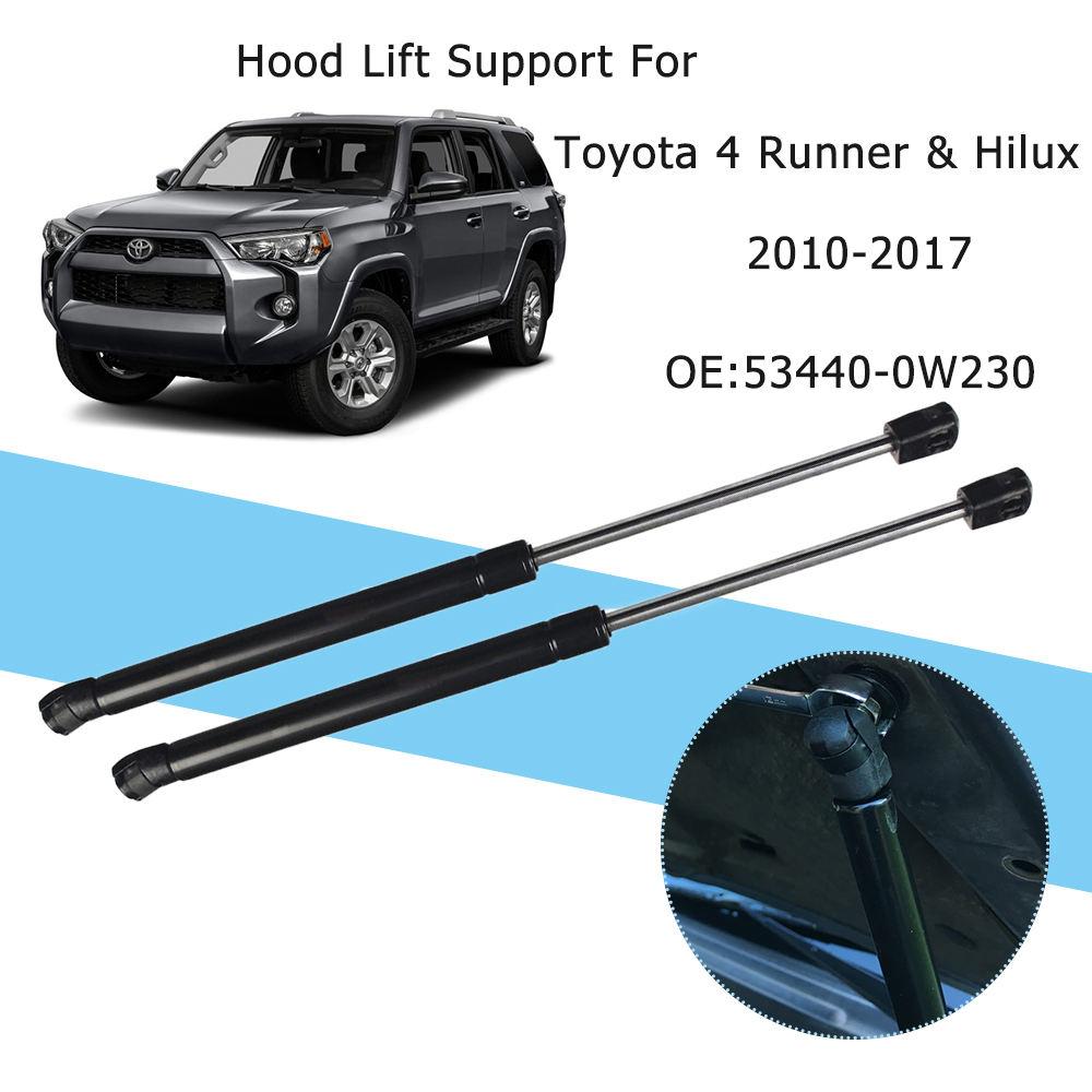 Black Fit Toyota Tercel 95-99 Bonnet Hood Lift Support Car Damper Kit