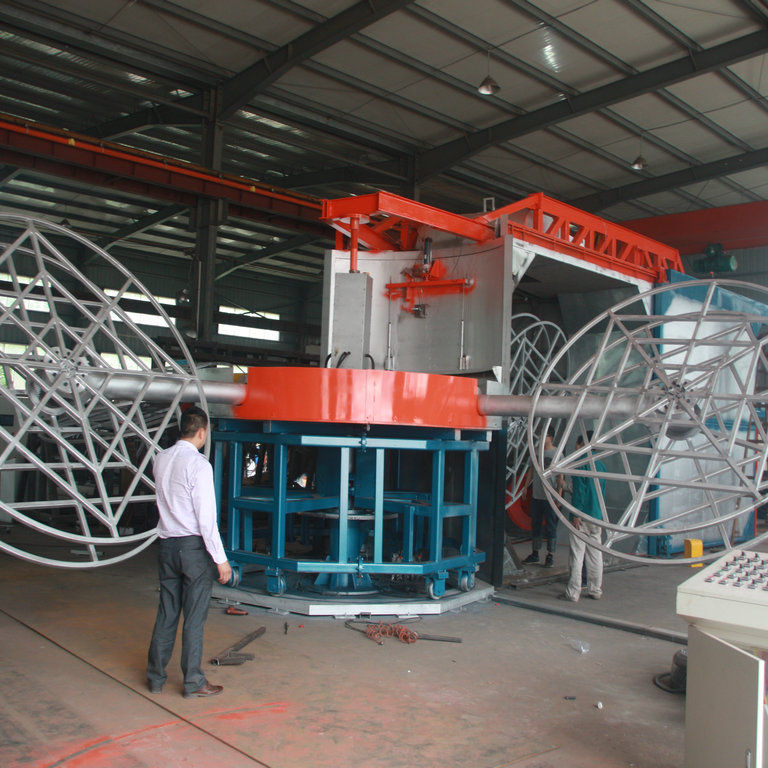 carrousel rotational molding machine