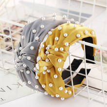 30pcs/lot Fashion Vintage Latest Girl Cute Pearl Makeup Embellished Hairband Headband Designs Accessories for Women Jewelry