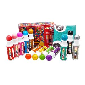 learning kindergarten painting graffiti dot markers set for kids coloring learning use